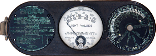 James S Light Meter Collection Who Invented The Exposure