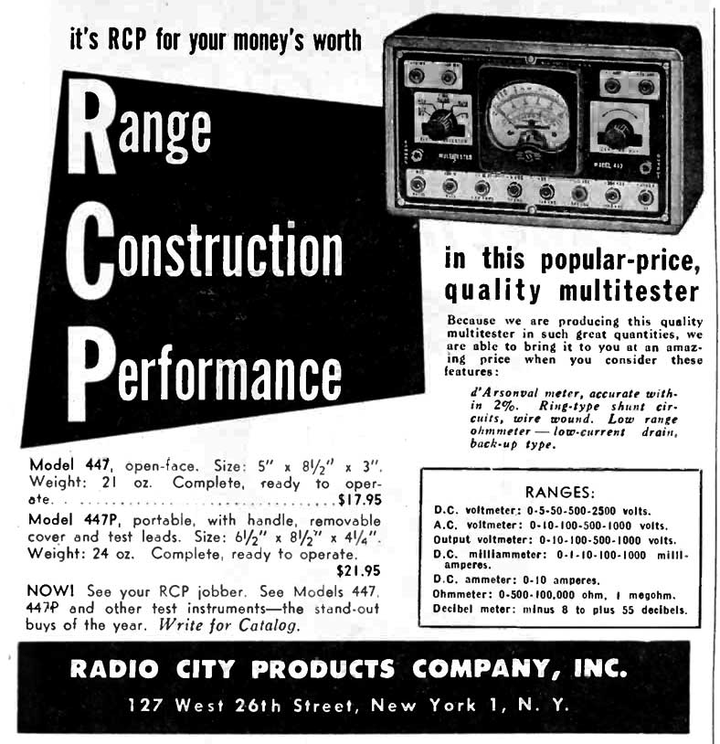 Turn That Damn Thing Off: A Guide to Radio City Products