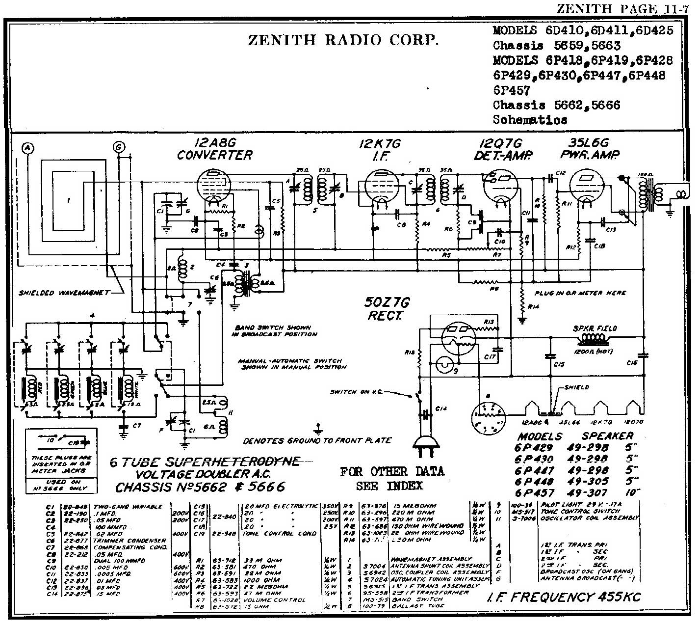 james u0026 39 s zenith 6p448 radio cart repair
